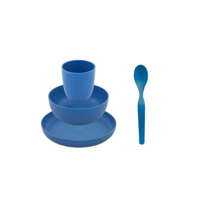 Kinderservies Bioplastic Blauw