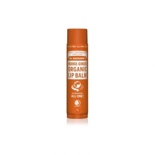 Natuurlijke lippenbalsem Orange Ginger