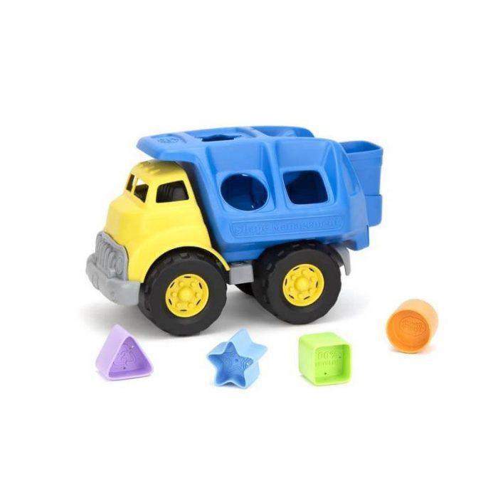 Vrachtwagen vormen sorteren