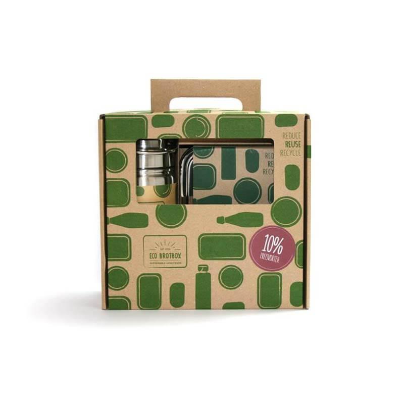 Lunchbox en Drinkfles Kado Set