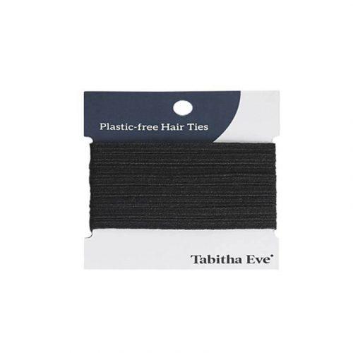 Natuurlijke haarelastiekjes zwart