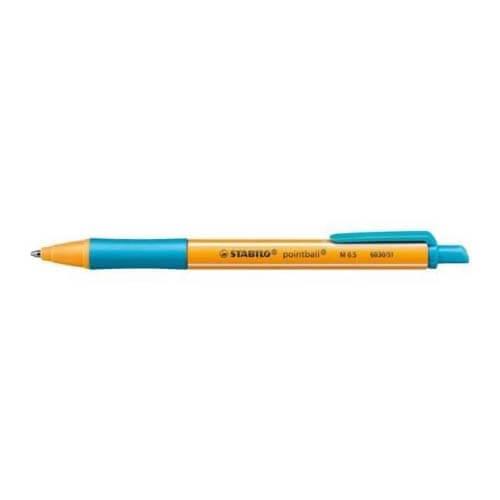 Stabilo pen Pointball turquoise