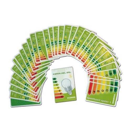 Energielabel kaartspel